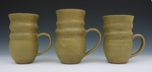 Paula Reynolds 3 Bronze Mugs