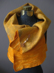Nuno Felted Reversible Silk and Merino Vest