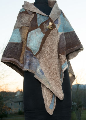 Kami Watson Studio Patchwork Triangle Shawl